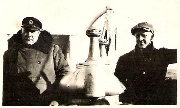 My grandfather on the right. Bestefar til høyre #genealogy  #slektsforskning