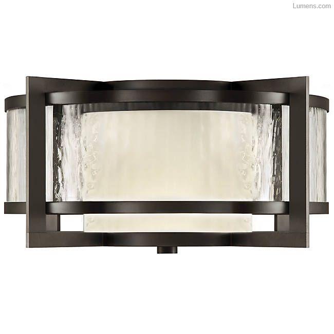 Singapore Moderne Outdoor Flushmount by Fine Art Lamps at Lumens.com