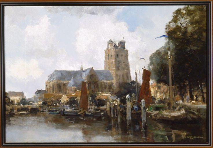 The Harbour of Dordrecht - W.G.F. Jansen