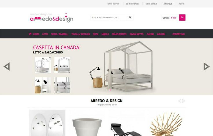 e-commerce arredoandesign.com  http://www.arredoandesign.com/