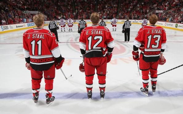 The Staal Brothers, Carolina Hurricanes