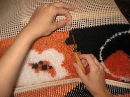 Картинки по запросу коврик из футболок своими руками МК видео