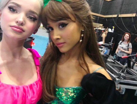 Dove Cameron and Ariana Grande // my fav pic ever lol ♡
