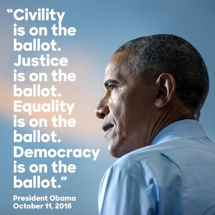 Vote!  It's too close, and the stakes are too high to sit this one out! HILLARY 2016!!!!!!!!!!!!!