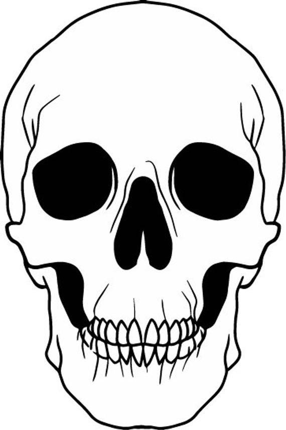 White Skull Svg File Skeleton Face Svg Gothic Skull Black Etsy Skeleton Art Drawing Skeleton Face Skull Sketch