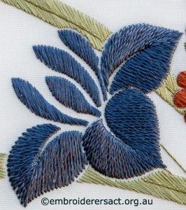 Detalle 6 del ramo desde el Corazón de Japón cosido por Irene Burton