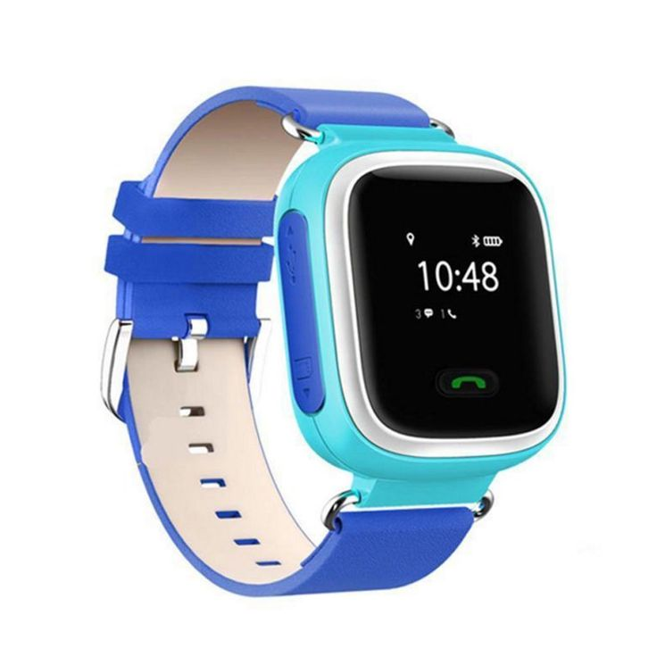 Q60 Kids Child Gift Cute Blue Smart Watch Band GPS/LBS/Bluetooth Tracker Locater Real-time Monitor GSM Phone SOS Call. Interphone + voice message + Watch + Tracker + Emergency Alarm + Real-time monitoriing. Support GPS/GPRS/Bluetooth, Know your kid at any time and place throught your phone. Dual-way call and Intercom , Make communication more smoothly. GPRS Real-time monitoring of child dynamics, with Emergency Alarm. Multifunction for more conditions, Anti shedding alarm, Watch Dismantle...