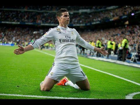 James Rodríguez 17 goles 46 partidos con el Real Madrid.