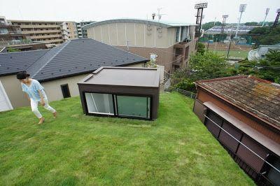 Grass Cave House/Makiko Tsukada Architects
