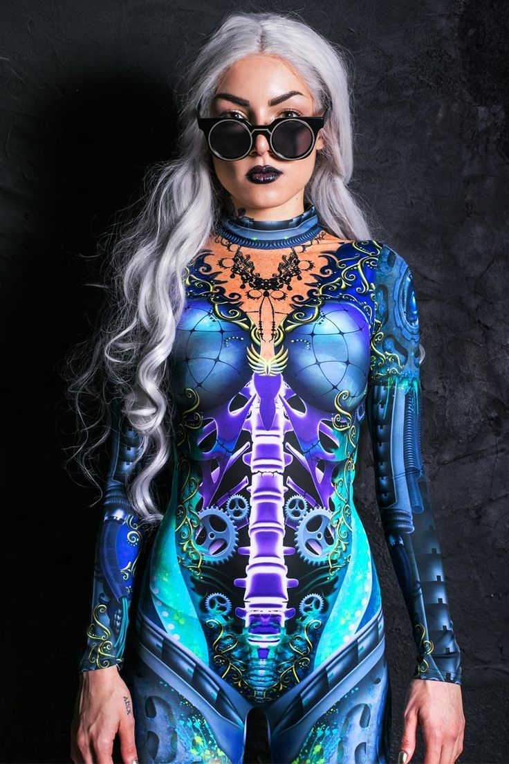 Steampunk Catsuit In 2020 Cyberpunk Clothes Festival Outfits
