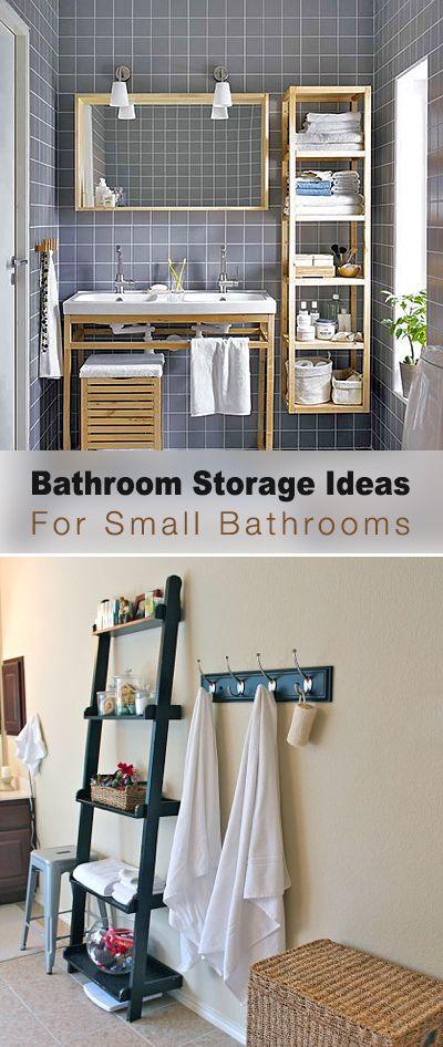 Bathroom Storage Ideas For Small Bathrooms • Tips & Ideas!