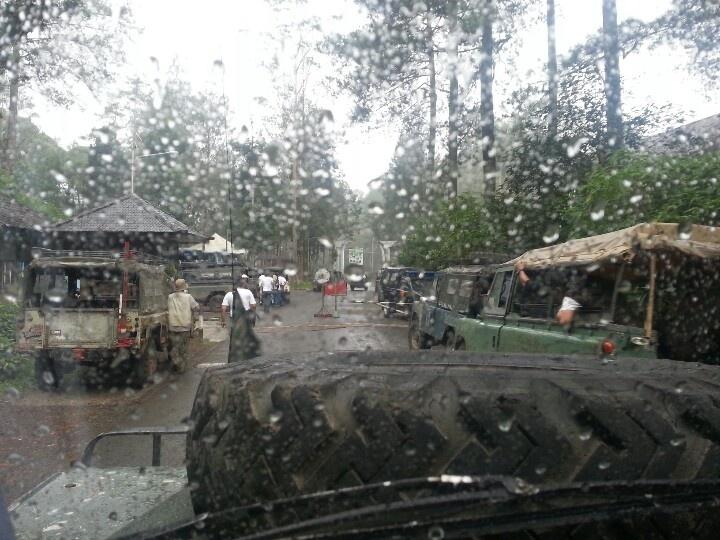 Off road in lembang,bandung