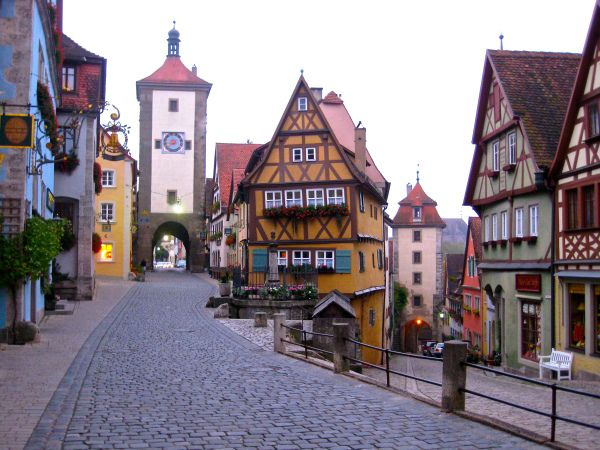 Germany- Rothenberg ob der Tauber- Corner 10 European towns.