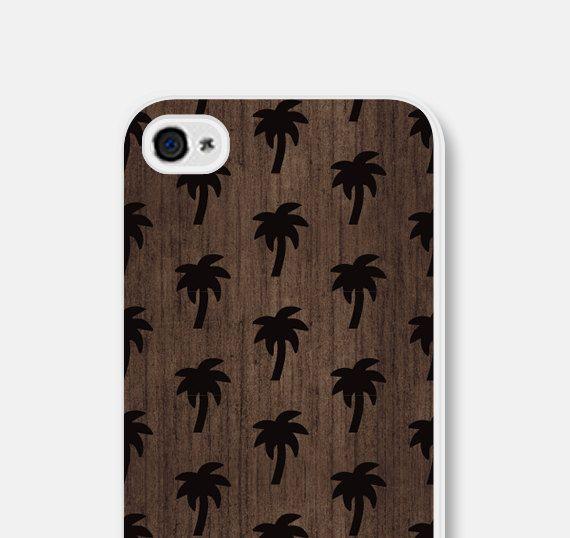 Mens iPhone 6 geval Palm Tree hout iPhone Case iPhone door fieldtrip
