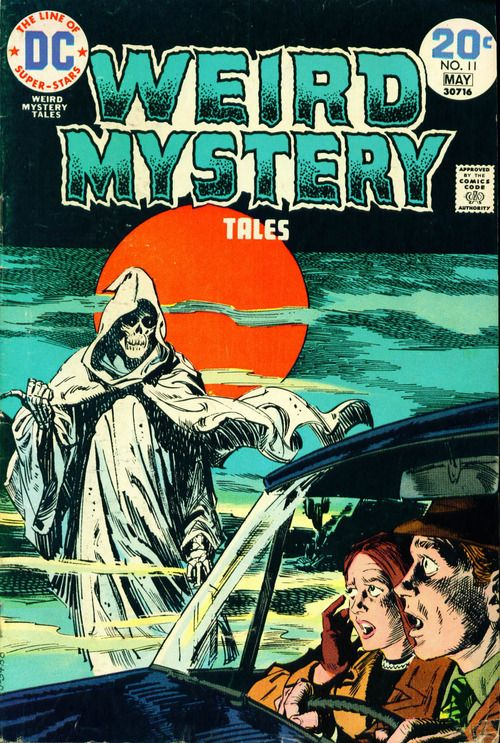 Weird Mystery Tales #11, may 1974, cover by Luis Dominguez. - I used to read these faithfully when I was a kid...