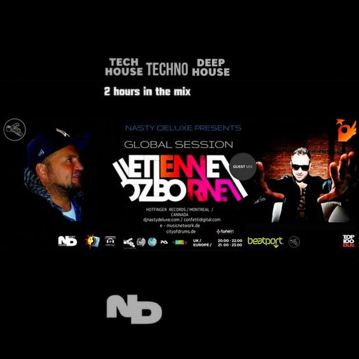 """The """"Global Session's"""" is an UK Electronic Music Radio Show, based in London, that is Aired across the World via the Internet, Satellite, Cable, Digital Radio, Online and Mobile Broadcast Platforms.  It's mixed and presented by Kristijan Nestoroski aka Dj Nasty deluxe and incorporates a two weekly Guest Mix by the biggest Names, Lokal Producer's and Dj's, at the Electronic Music Universe, exclusively for """"The Global Sessions""""."""