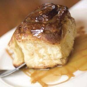 Yum!  Caramel Roll~ Granite City brunch