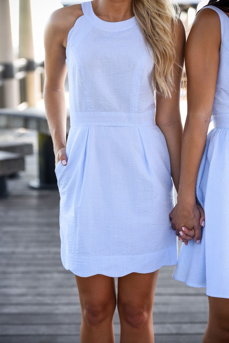 You can never go wrong with a scalloped trim… We adore it! Which is what makes this brand new style something we can't get enough of! The Landry Dress is the perfect, flattering & feminine addition to
