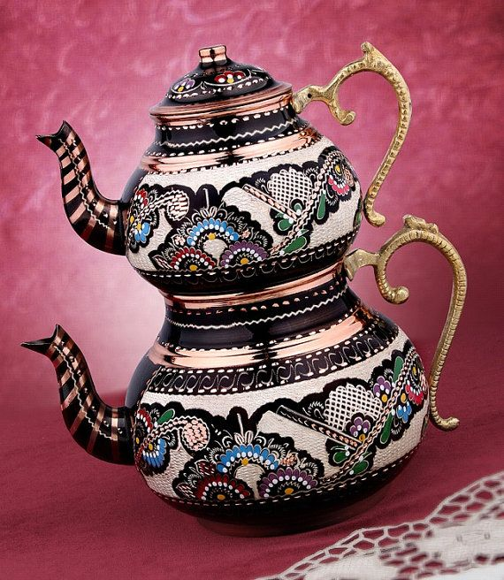Check out this item in my Etsy shop https://www.etsy.com/listing/206500350/authentic-handmade-copper-teapots-20-cm