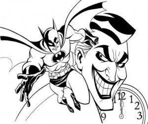 ausmalbilder batman joker   batman coloring pages, horse