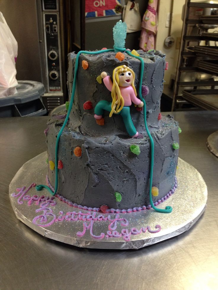 rock themed wedding cakes rock climbing wall cake may you eat cake 19252