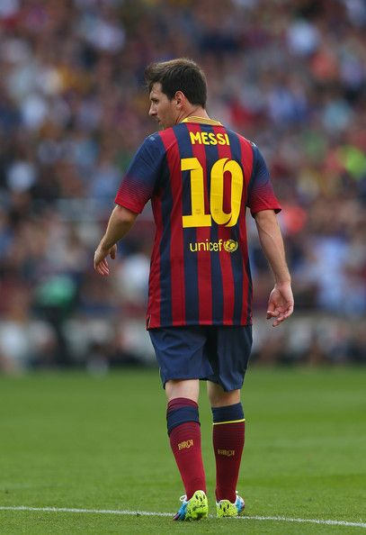Lionel Messi of FC Barcelona.