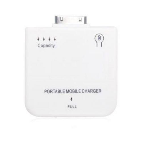 Overal je smartphone opladen - iPhone Witte Draagbare Oplader voor de laagste prijs? Snelle + Gratis verzending!