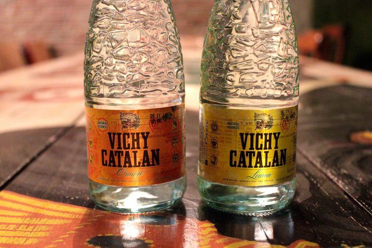 https://flic.kr/p/CidH37   Vichy Catalan Lemon y Orange, en botella de vídrio 250 ml.