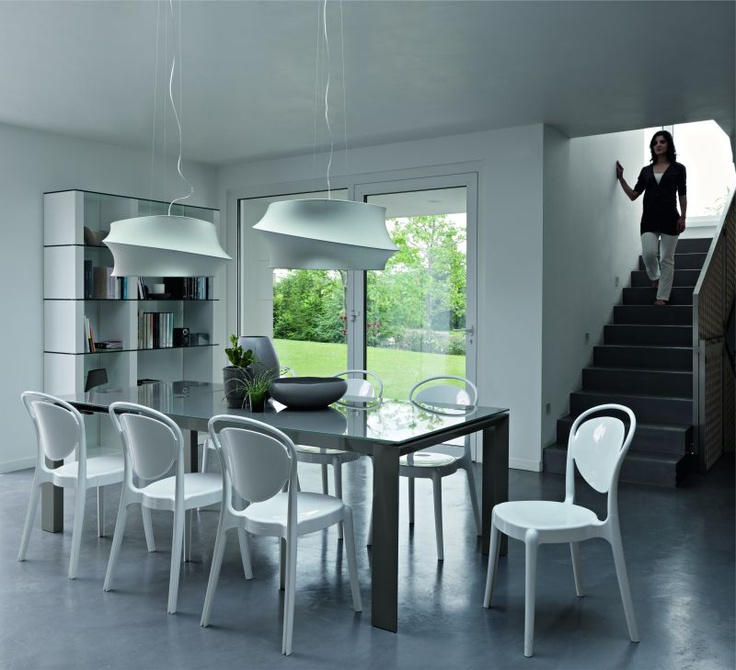 Beutiful set up by Calligaris