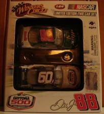 #88 Dale Earhardt jr  2009 Winner's Circle Limited Edition NASCAR Two Car Set Daytona 500 - #88 Dale Earhardt Jr - AMP Impala SS, 1:64 Diecast     Car #1 - #88 Dale Earhardt Jr - AMP Impala SS, 1:64 Diecast      Car #2 - 51st Running of Daytona Theme Car    Still in original ...