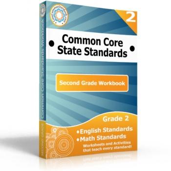 Second Grade Common Core Workbook