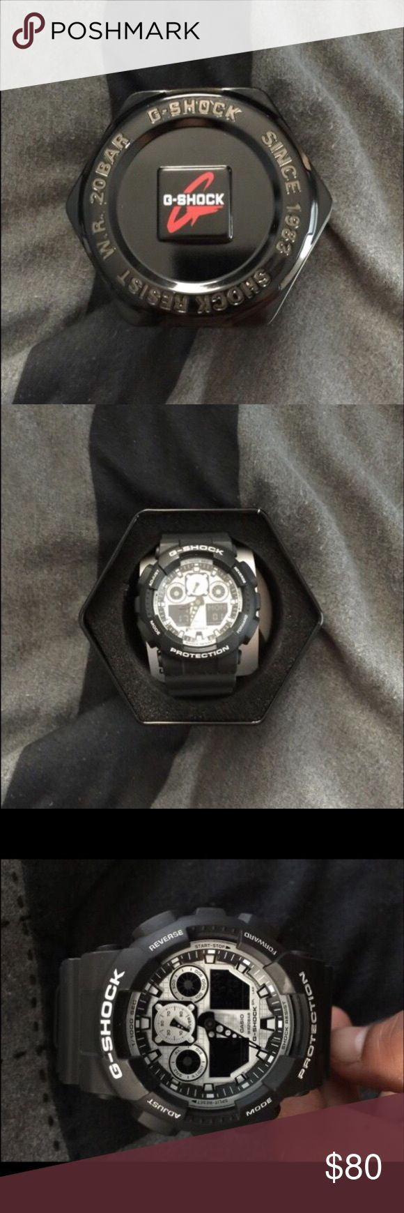Black and white g shock Brand new g shock Accessories Watches
