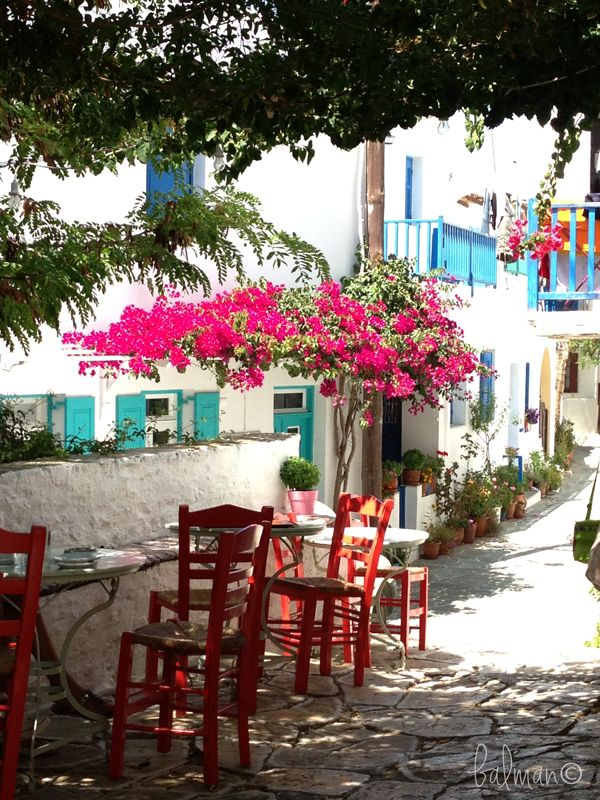 Folegandros island, Chora.