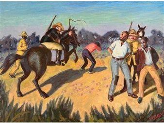 The Arrest of Steve Biko By George Pemba ,1987