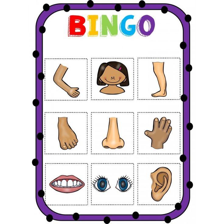 Ce bingo comprend les mots de vocabulaire du corps humain. Il s'agit des mots de base. Ce bingo a été conçu avant tout pour les enfants non francophones afin qu'ils apprennent le vocabulaire en s'amusant. Les cartes du bingo ne montren