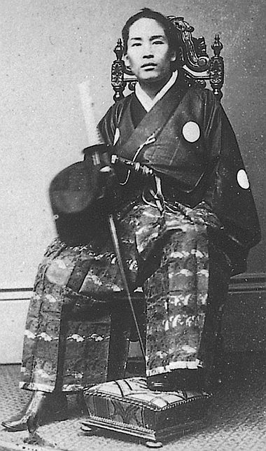 Enomoto Takeaki. Viscount Enomoto Takeaki was a samurai and admiral of the Tokugawa navy of Bakumatsu period Japan, who remained faithful to the Tokugawa shogunate who fought against the new Meiji government until the end of the Boshin War.