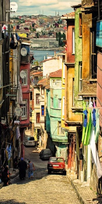 Istanbul ,Balat district