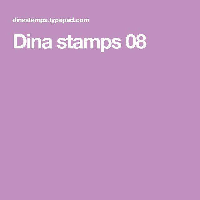 Dina stamps 08