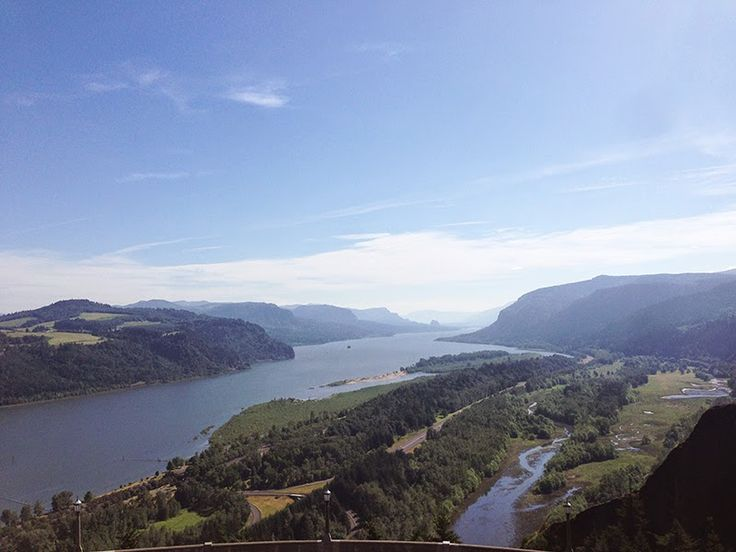 Columbia River Gorge at Vista House