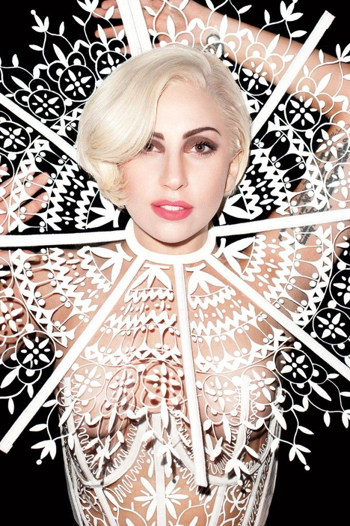 Lady Gaga For Harper's Bazaar, March 2014.  Photographed by Terry Richardson.