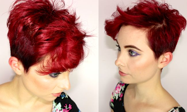 Short Red Hairstyles 83 Best Hair Images On Pinterest  Short Films Hairstyle Short And