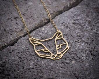 Collana gufo animale collana collana uccello Civetta di ByYaeli