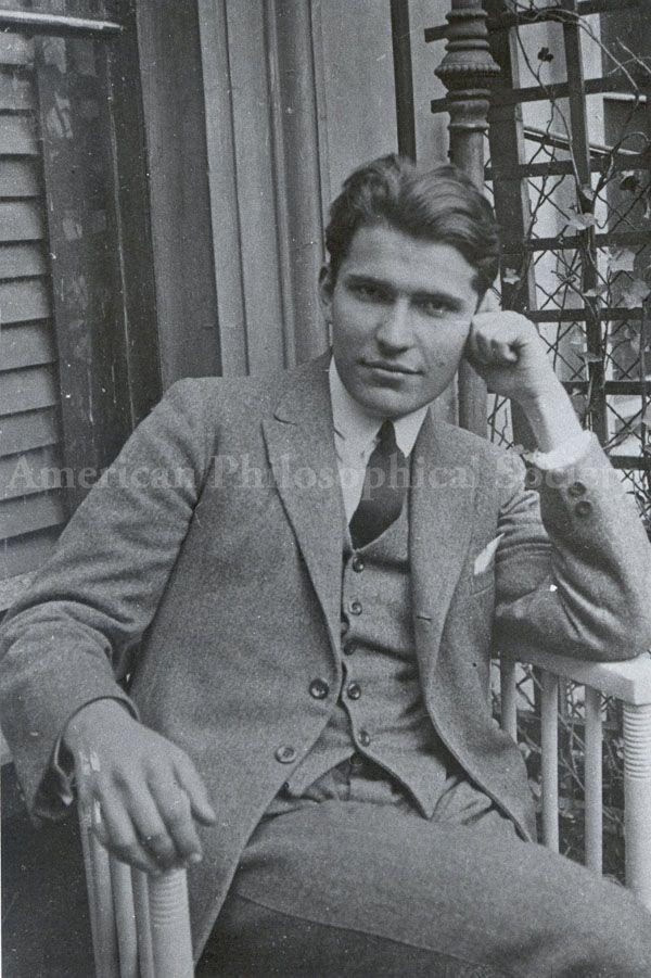 Portrait of Erwin Chargaff. 1930.