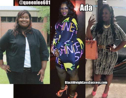 Today's featured weight loss success story: Ada lost 115 pounds.