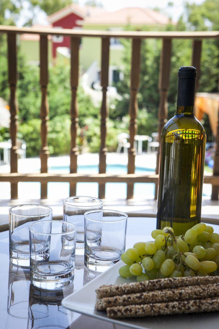 Kick back with our home made wine on the shady veranda.....mmmmm sounds like holidays to me!