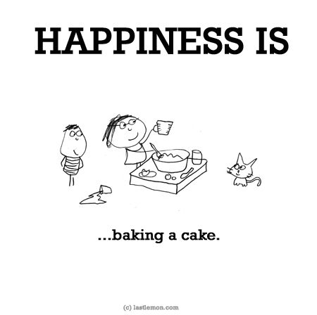 http://lastlemon.com/happiness/ha0139/ HAPPINESS IS...baking a cake.