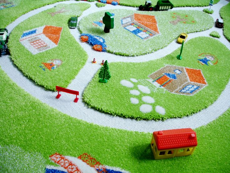 Interactive Farm Play Rugs