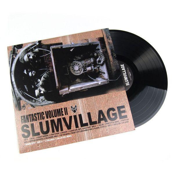 Slum Village: Fantastic Vol.2 Vinyl 2LP
