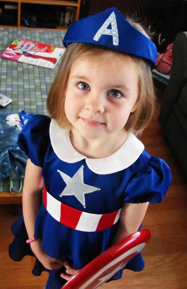 TINY PRINCESS CAPTAIN AMERICA!