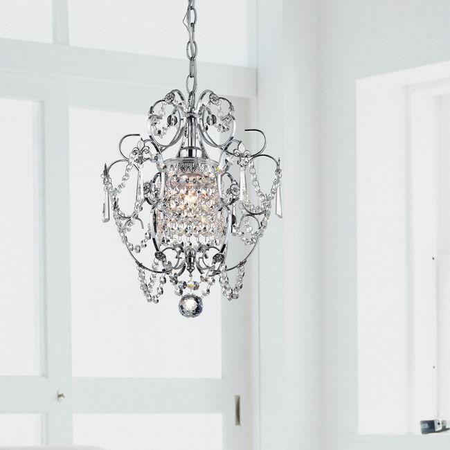81 best lights images on Pinterest   Crystal lights, Clear crystal ...